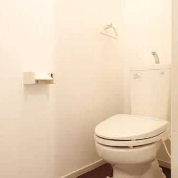 トイレはノーマルタイプ。※前回募集時の写真