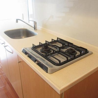 作業スペースが多めのキッチンは使い勝手が◎