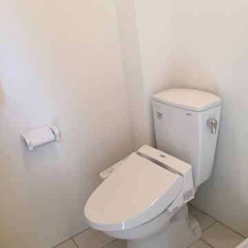 トイレです。 ※写真は別部屋です