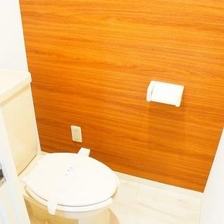 ナチュラル雰囲気のトイレ