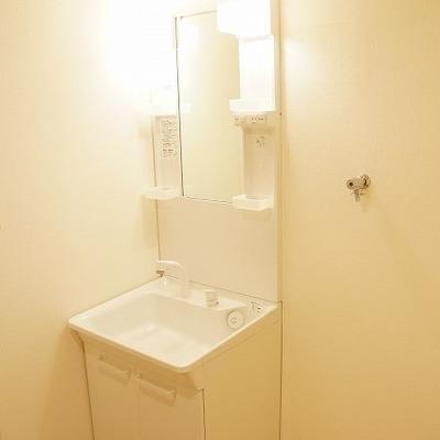 洗面台はこちらです※写真は前回募集時のものです