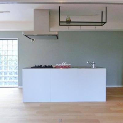 光の集まるキッチン