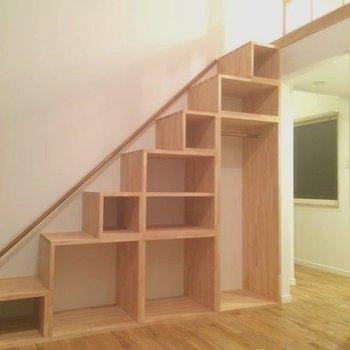 ロフトの階段が可愛らしい!※写真は前回募集時のもの
