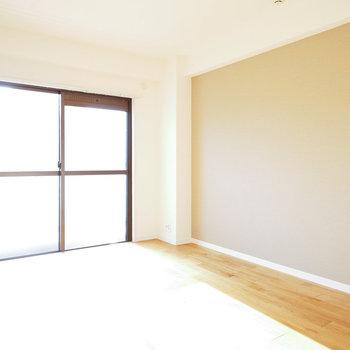 寝室も日当たりが抜群!※写真は前回募集時のものになります。