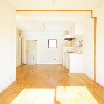 廊下がないだけあって広さ十分※写真は前回募集時のものになります。