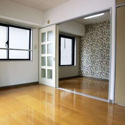303号室はモデルルームになっています。
