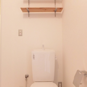 トイレは脱衣所と同スペース。