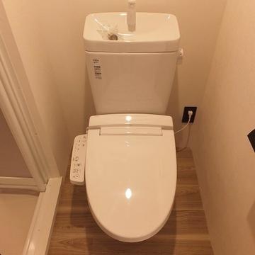 バストイレ分かれているのがうれしい!