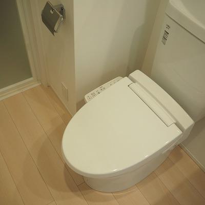 シンプルなトイレ ※写真は前回募集時のものです