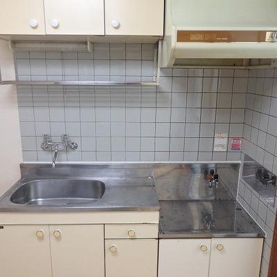キッチンはガスコンロを設置お願いします!