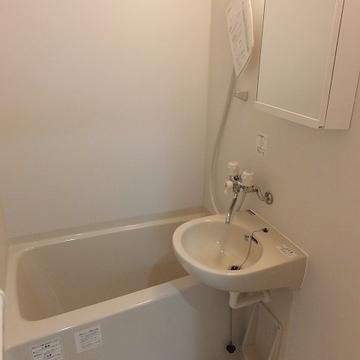 お風呂も普通。