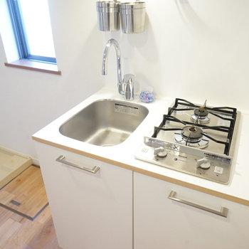 キッチンはきゅきゅっとコンパクトに。※写真は前回募集時のものです