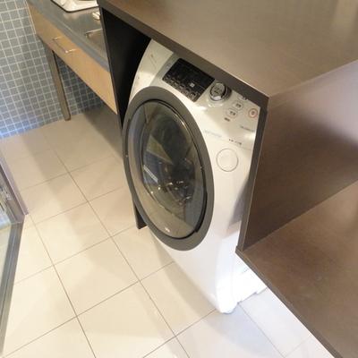 ドラム式洗濯・乾燥機もある!