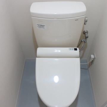 トイレはフツウ。