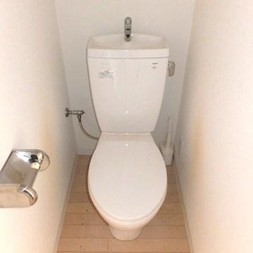 トイレは個室!いいですね◎