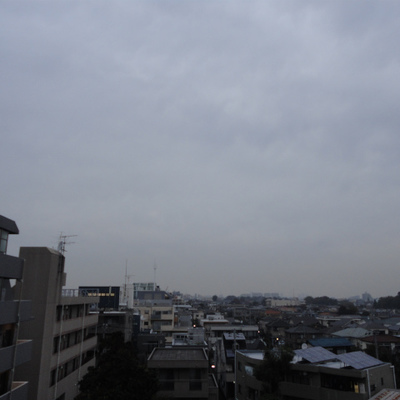 6階からの眺めです。