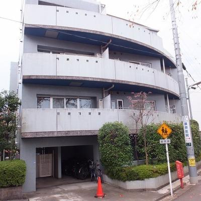 5階建てのしっかりしたマンションです。