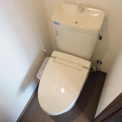 もちろんトイレも綺麗