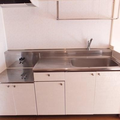 キッチンか大きめです。