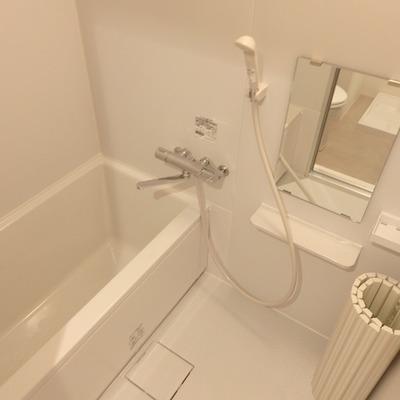 追い焚き機能は付いていなくても、トイレは別で嬉しいポイント。
