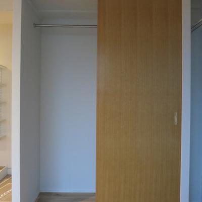 収納はちょっと少ないかな、、※写真は別室です