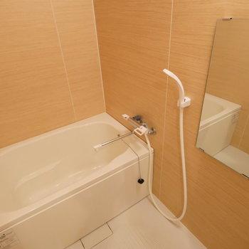 お風呂もきれいですね※写真はクリーニング中