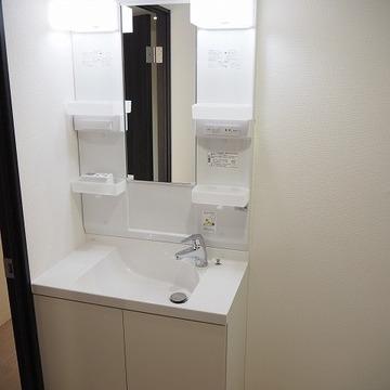 独立洗面台。※写真は前回募集時のものです