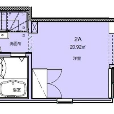 玄関から階段を上ってお部屋へ。