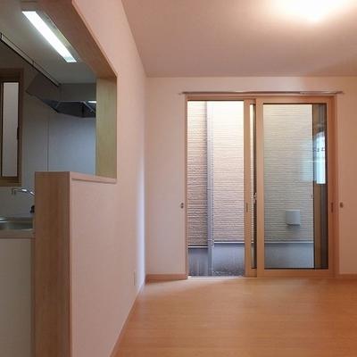 カウンターキッチンのあるお部屋。