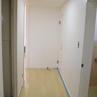 広い廊下があります