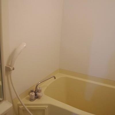 お風呂は少し狭いかもですね…