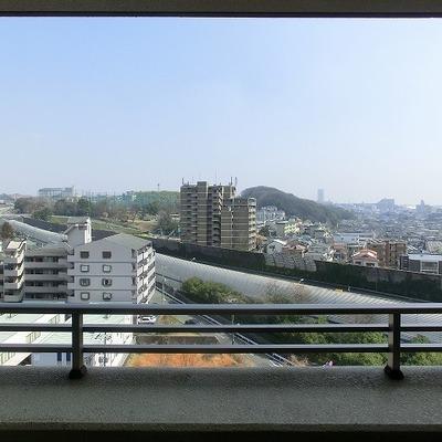 10階からの眺めは良好