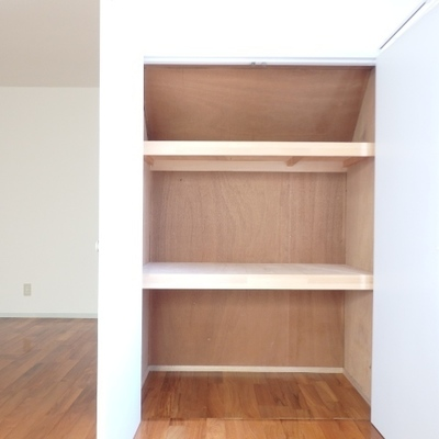 キッチンがある方のお部屋の収納です。