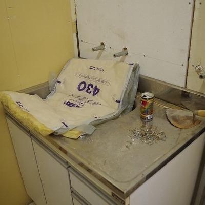キッチンも新品になりますよ!