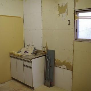 キッチンスペースは広いです。