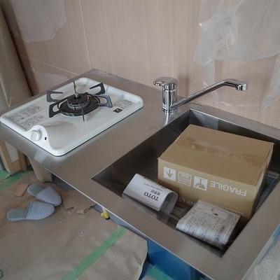 キッチンがシンプル!!画像は反転タイプです