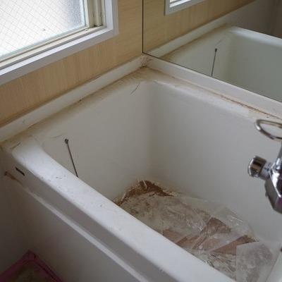 お風呂です。画像は反転タイプです
