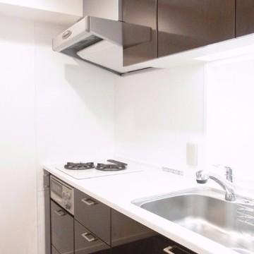 広い調理スペースが魅力的
