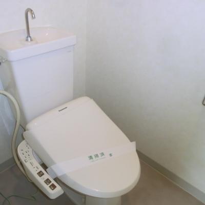 独立トイレです※前回募集時の写真となります。