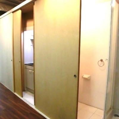 バス・トイレ・キッチンが!