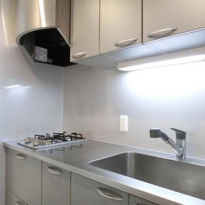 キッチンも調理スペースにゆとり。
