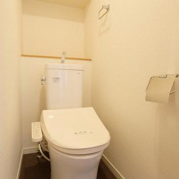 トイレはもちろんウォシュレットつき!※写真は前回募集時のもの