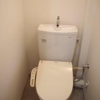 ウォシュレット付きトイレ!