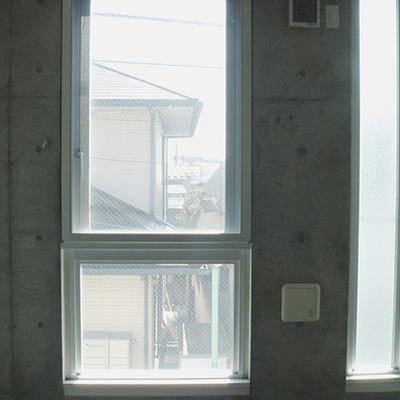 窓からの景色は…普通かも