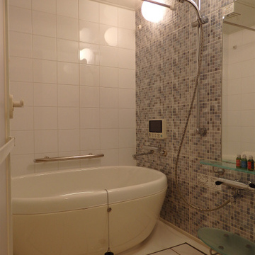このお風呂かわいい!