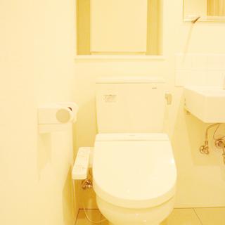 トイレは温水浄水便座。※掲載写真は前回掲載時のものです。