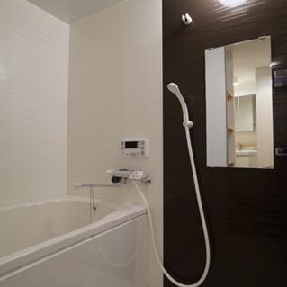 前回工事で新設されたお風呂場
