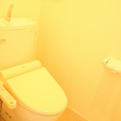 トイレも余裕のスペース