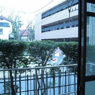 1階からの景色…見通りが見えていい!!