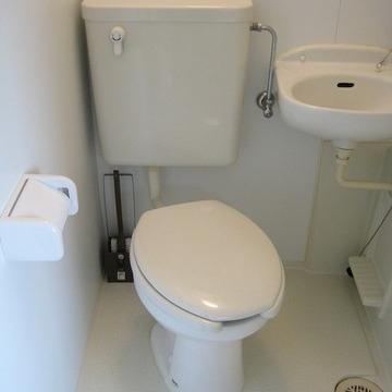 トイレもいっしょに掃除できちゃうね。